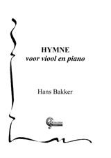 Hymne for violin and piano